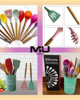 Set silicone utensili cucina