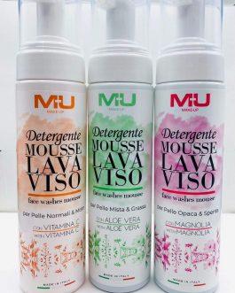Detergente in mousse 200ml MU MAKE UP