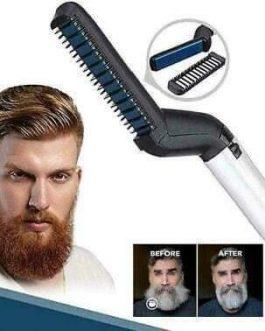 Spazzola lisciante barba e capelli MU MAKE UP