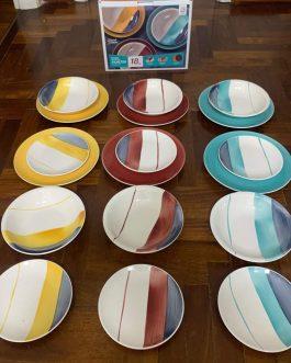 Servizio di piatti 18 pezzi