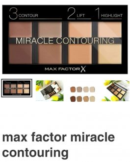 Palette contouring MAX FACTOR   Miracle Contouring .