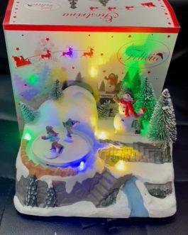 Disponibile giostra  Natale misura 18*13*16cm