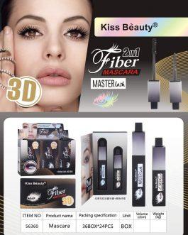 Mascara 3D KISS BEAUTY