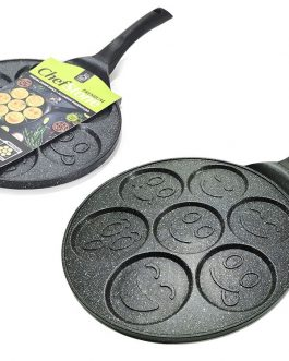 padella per pancake 27cm 7posti
