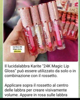 Balsamo riparatore labbra lip gloss Magic oil lip
